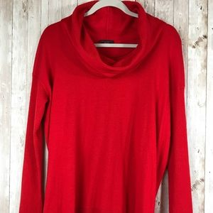 Vince Camuto Red Cowl Neck Sweater Size Medium